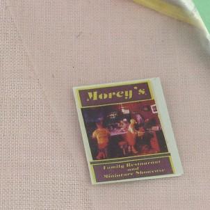 Magazine miniature maison poupée