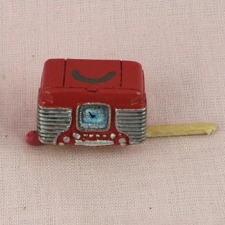 Radiorückposten Miniaturpuppenhaus