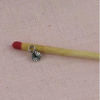 Doll jewel pendant 4 mm