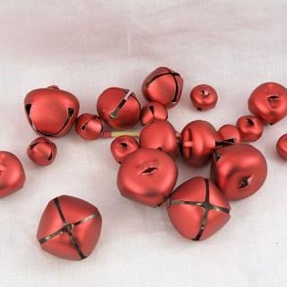 19 cascabeles rojos surditos