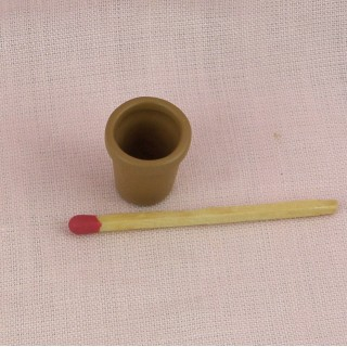 Pot fleurs miniature maison poupée