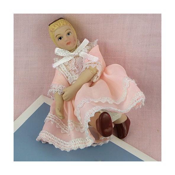 Farm girl charactere 1/12 for dollhouse