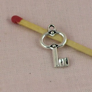 Key charms miniature 2 cm.