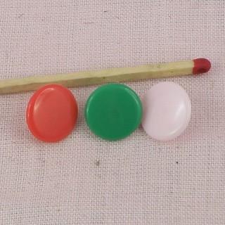 Plastic Snaps fastener 12 mms
