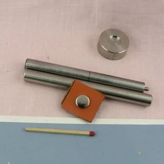 Mini snaps fastener tool.