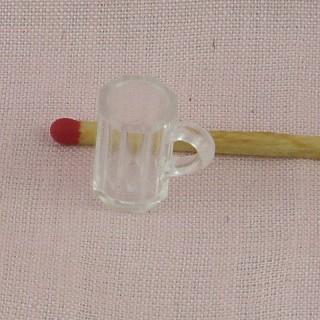 Chope à bière miniature 15 mm