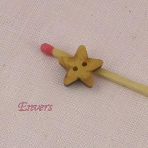 Botón estrella bebe 13 mm