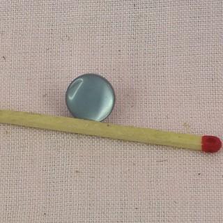 10 Botones a pie perla nacarado 1 cm,