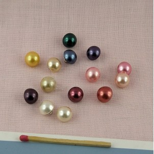 Shank buttons pearl 1 cm