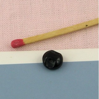 Botón rueda perla 1 cm.
