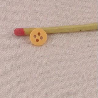 Botón mercería abombado 8 mm.