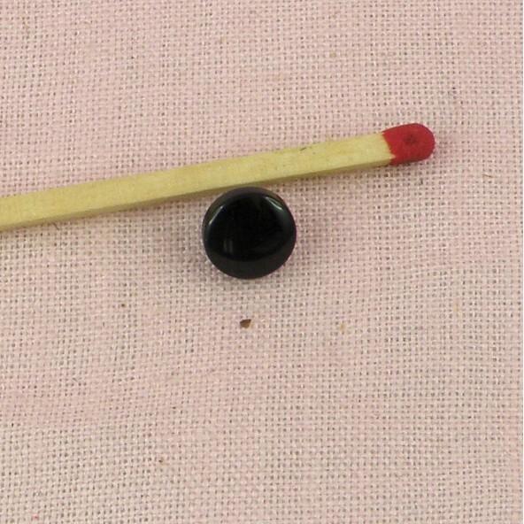 Shank plastic button 7 mms