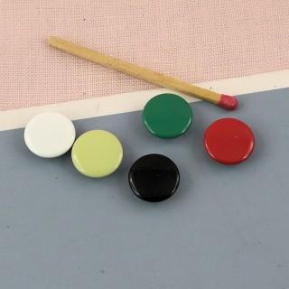 Bouton pression couleur àgriffes
