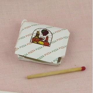Pizza, Miniatur Haus Puppe zu liefern 35 mm