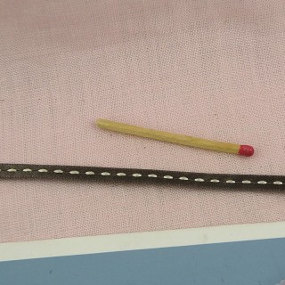 La cinta de satén cosió 5 mm