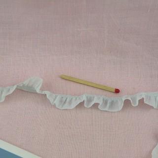 Flounced ribbon wrinkled rustle 15 mms