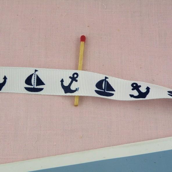 Hutband Gros-Korn kleine Boote 15 mm
