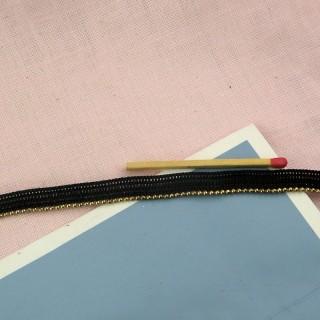 Biese kleine Kugeln das vergoldete Metall 2 mm