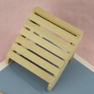 Tabla de lavar miniatura de madera 5 cm