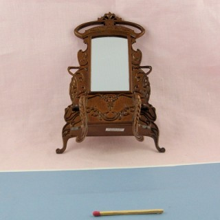 Lincoln umbrella stand doll house miniature,