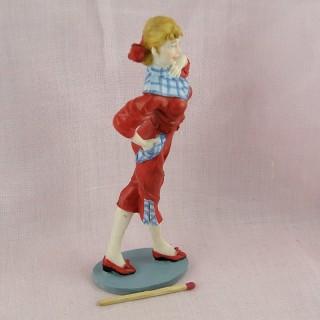 Statuette junges Mädchen 50er Jahre