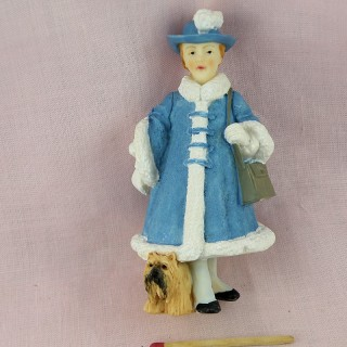 Decoration miniature dorothy and the dog