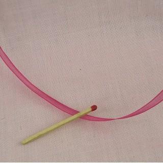 Organza  ribbon 6 mms.