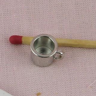 Mug comprime metal miniatura 1 cm