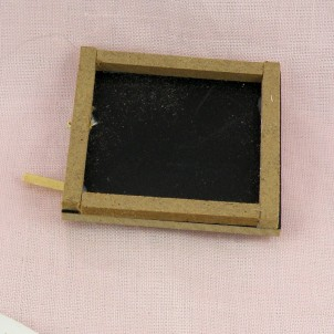 Miniaturschiefer Puppenhaus 5 cm.