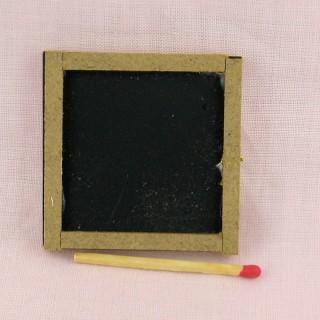 Pizarra miniatura casa de muñecas 5 cm.