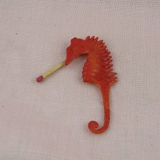 Lobster kitchen fish shop doll miniature, 9 cms.