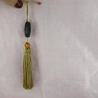Pompon borla llavero decoración 11 cm