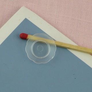 Assiette miniature miniature poupée 1/12ème