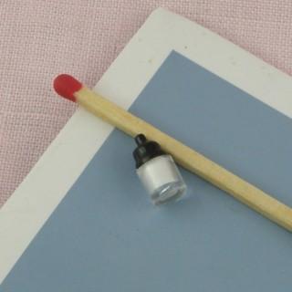 Sucrier stro miniature maison poupée 2 cm.