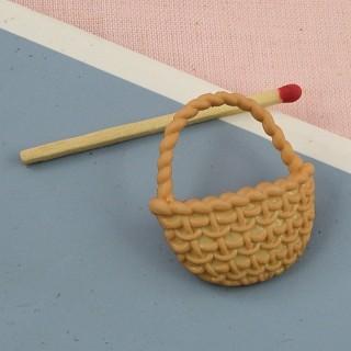 Basket shank button,