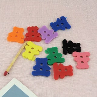 Botones de oso de pequeño tamaño de bajo precio