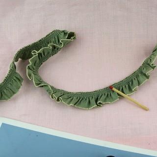 Band elastisches Satin fliegend 2 cm.