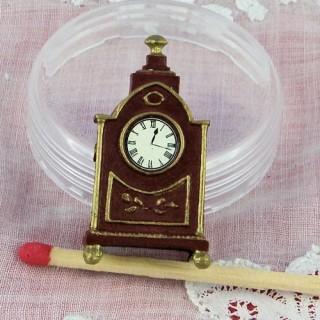 Pendel vergoldetes Metall Miniaturpuppenhaus 3 cm.