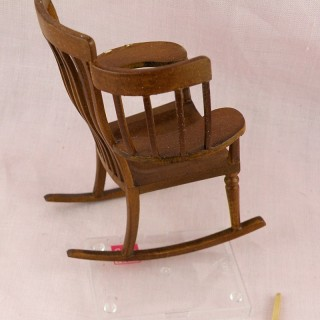miniature dollhouse rocking chair, 9 cmcs