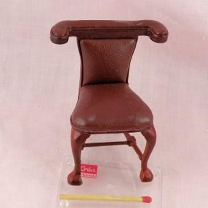 Chaise lecture ancienne miniature maison poupée