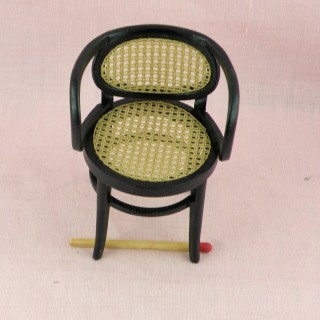 Thonet bentwood Armchair miniature doll house living room