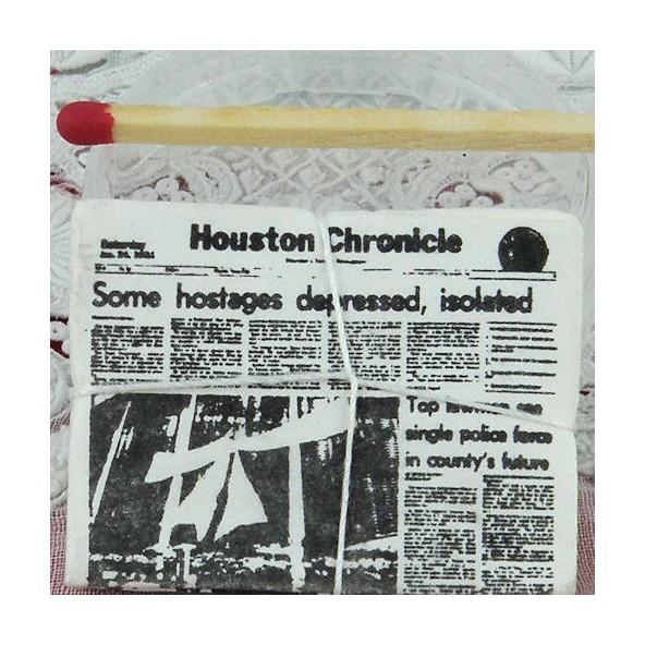 Journal miniature maison poupée San José Mercury