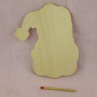 Gros Coeur en bois brut 8 cm