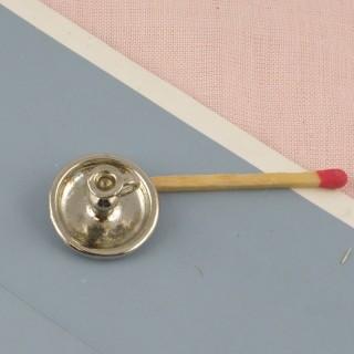 Miniaturkerzenständer rechnet von Nacht