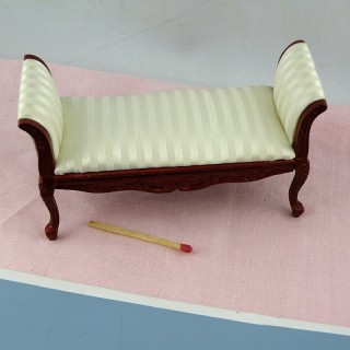 Empire sofa miniature furniture doll house furniture