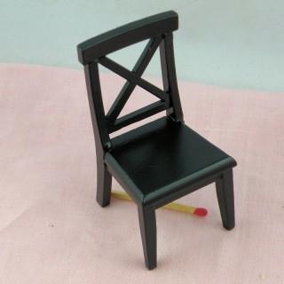 Silla movible miniatura casa de muñecas