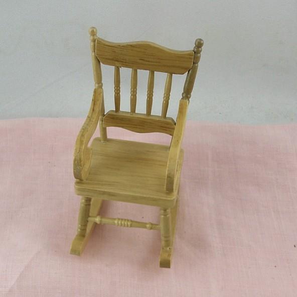 miniature dollhouse rocking chair, 9 cmcs