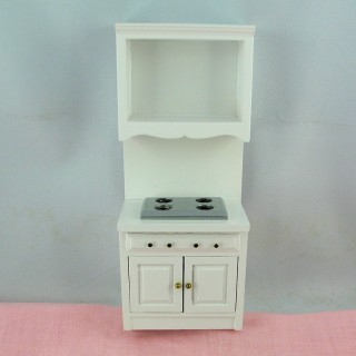 Miniature furniture cooking house headstock 18 cm.