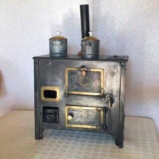 Juguete antiguo Cocina horno miniatura muñeca