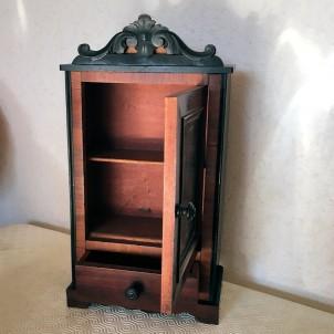 Armario De Lorena miniatura movible casa muñeca madera